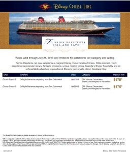 Last minute Disney Cruises just in time before back to school for Florida Residents CALL NOW Joline Arnold Brown Brevard Travel Service, your full service agency since 1981 321 459 1990 travel@brevardtravelfl.com 511 N Courtenay Pkwy, Merritt Island, Fl 32953              www.brevardtravelfl.com    Like us on FACEBOOK                                ~~HOURS 9-4 & Fri 9-2~~ET